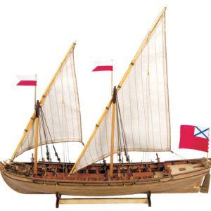 Double Boat Maquette de Bateau à Construire - Master Korabel (MK0201)