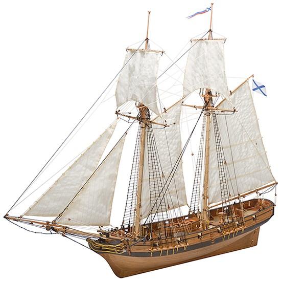 Shooner Polotsk 1788 Maquette à construire - Master Korabel (MK0302P)