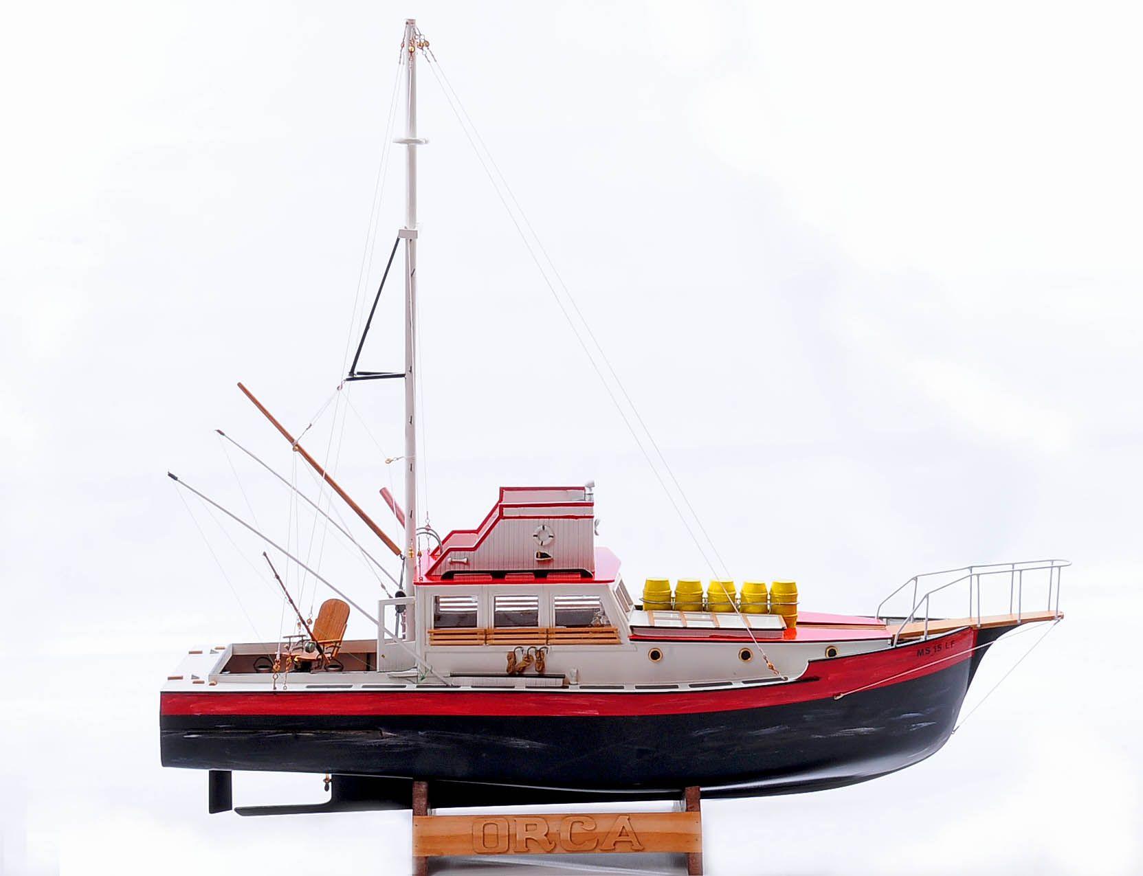 maquette bateau p u00eache - orca