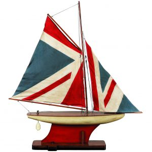 1268-12512-Union-Jack-Pond-Yacht-Standard-Range-Authentic-Models-AS051