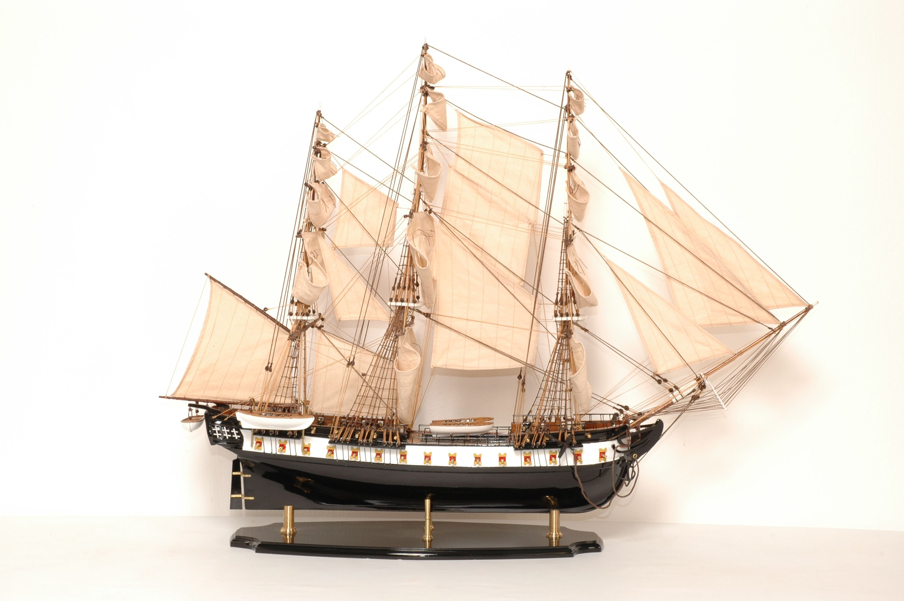 maquette bateau - uss constitution  gamme sup u00e9rieure
