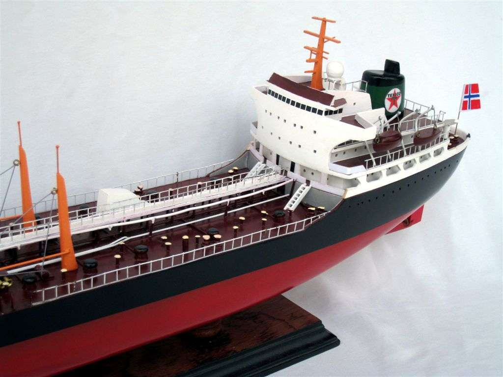 maquette bateau - p u00e9trolier texaco bogota  gamme standard