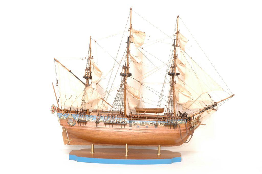 maquette bateau - royale caroline  gamme sup u00e9rieure