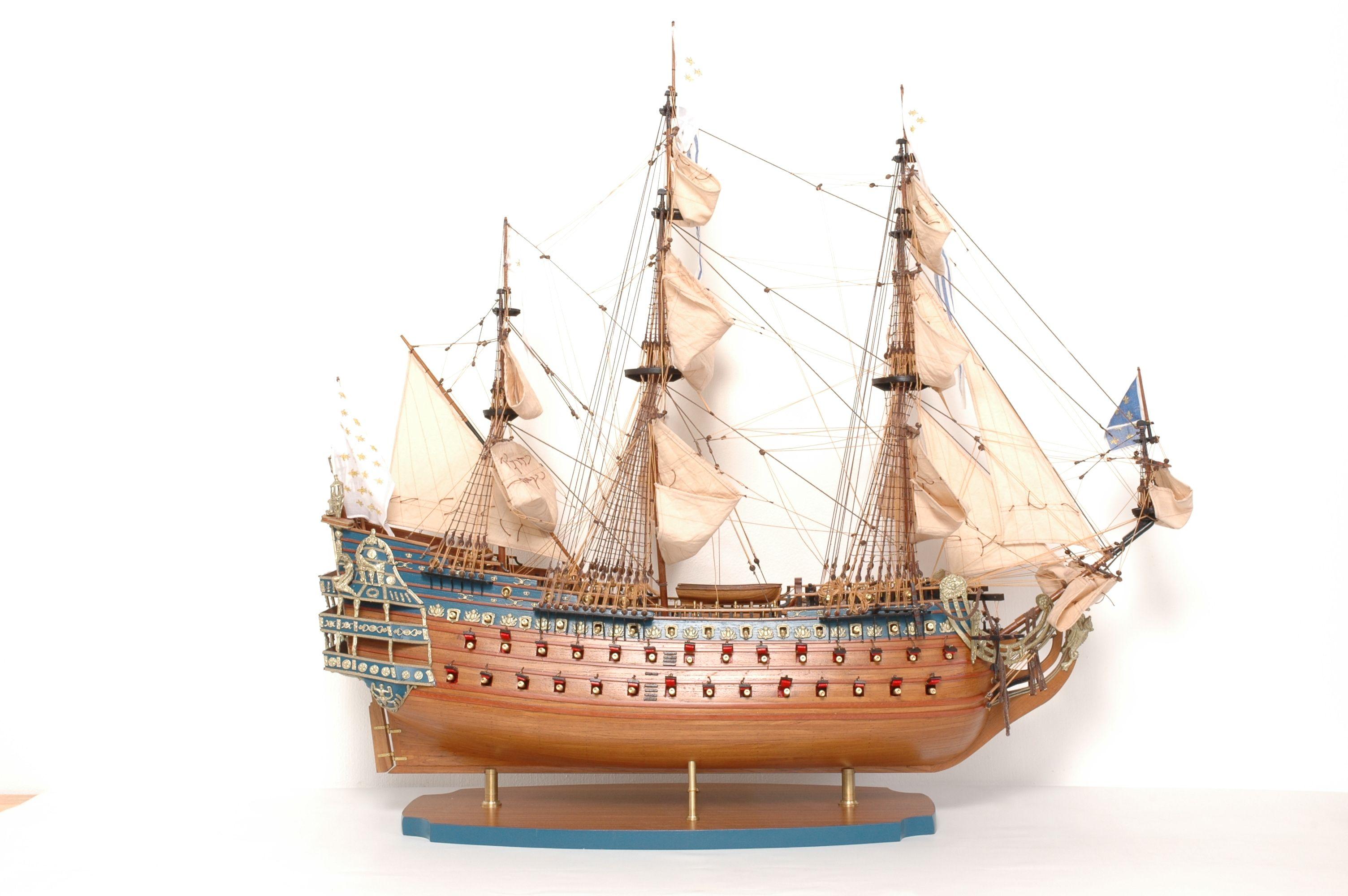 maquette bateau - soleil royal  gamme sup u00e9rieure