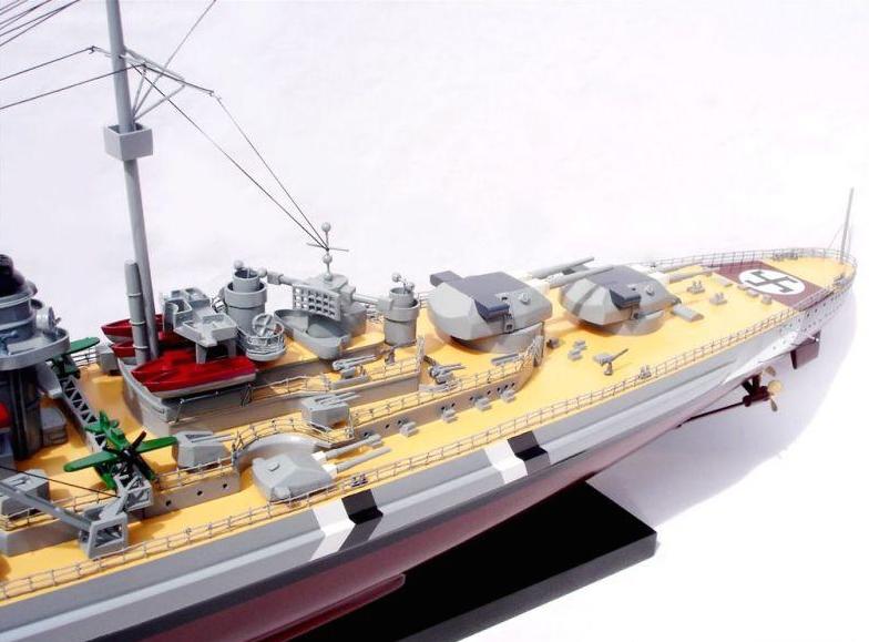 maquette bateau - cuirass u00e9 bismarck  gamme standard