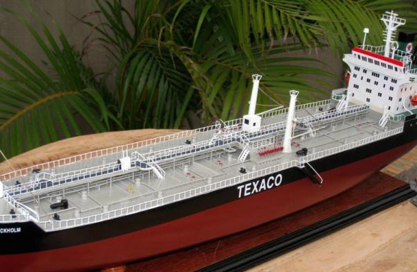 maquette bateau - p u00e9trolier texaco stockholm  gamme standard