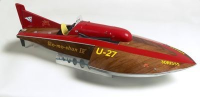 1643-Slo-Mo-Shun-IV-Model-Boat-Kit-Billing-Boats-B520