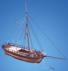 1728-9761-HM-Gunboat-William-Model-Ship-Kit