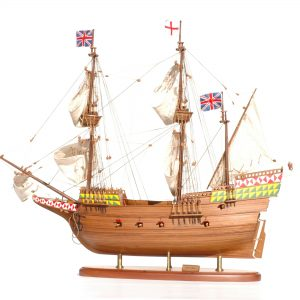 Maquette en bois Mayflower