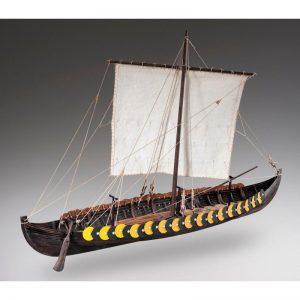 1884-11346-Viking-Gokstad-Model-Ship-Kit-Dusek-D006