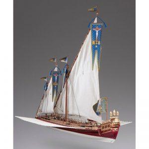1893-11377-La-Real-Ship-Model-Kit-Dusek-D015