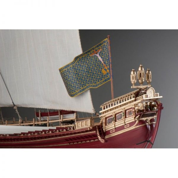 1893-11378-La-Real-Ship-Model-Kit-Dusek-D015