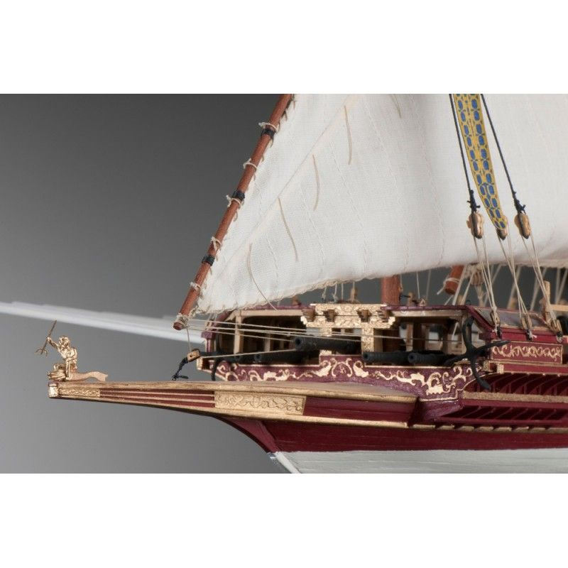 1893-11379-La-Real-Ship-Model-Kit-Dusek-D015