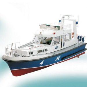 1901-11408-HE4-Police-Boat-Model-Boat-Kit-inc.-Fittings-Krick-K20330C