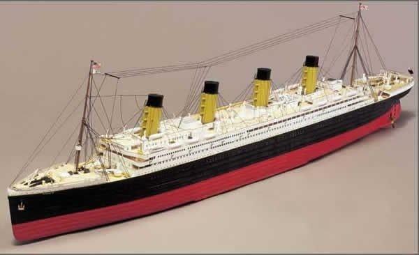 Maquette Titanic sur mesure