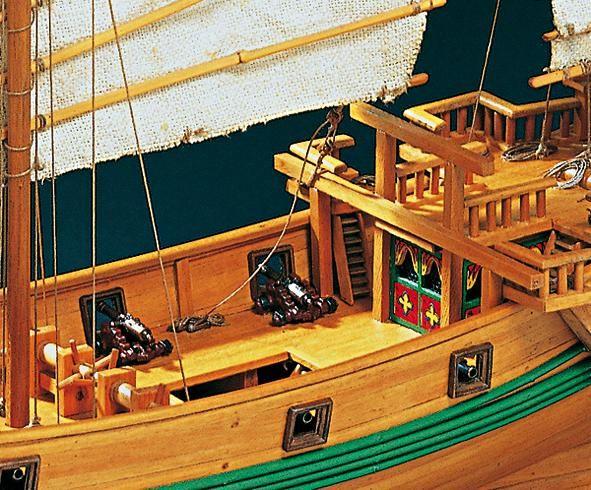 1971-11628-Chinese-Pirate-Junk-Boat-Kit-Amati-1421