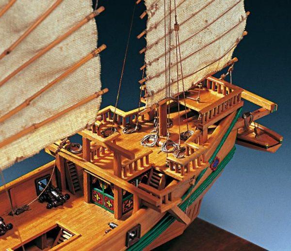 1971-11629-Chinese-Pirate-Junk-Boat-Kit-Amati-1421