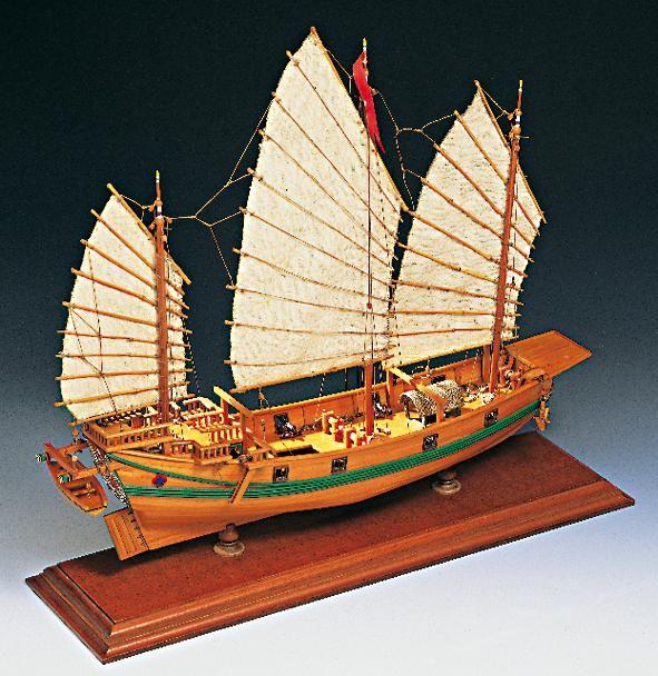 1971-11630-Chinese-Pirate-Junk-Boat-Kit-Amati-1421