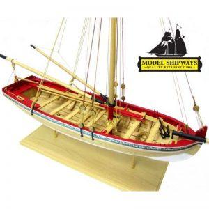 Maquette à Monter - 18th Century Longboat - Model Shipways (MS1457)