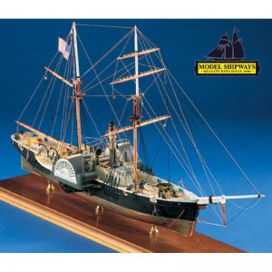 2117-12705-Harriet-Lane-Boat-Kit-Model-Shipways-MS2010