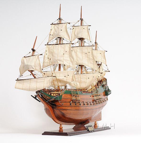 2279-13009-Batavia-Wooden-Model-Boat