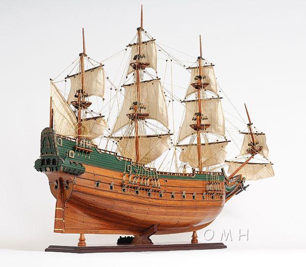 2279-13012-Batavia-Wooden-Model-Boat