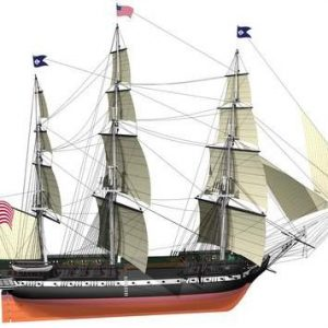 2349-USS-Constitution-Model-Ship-Kit-Billing-Boats-B508