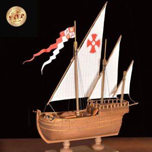 2513-14291-Nina-Model-Boat-Kit