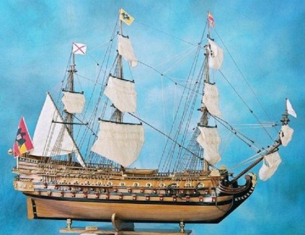 maquette bateau - san felipe  gamme sup u00e9rieure