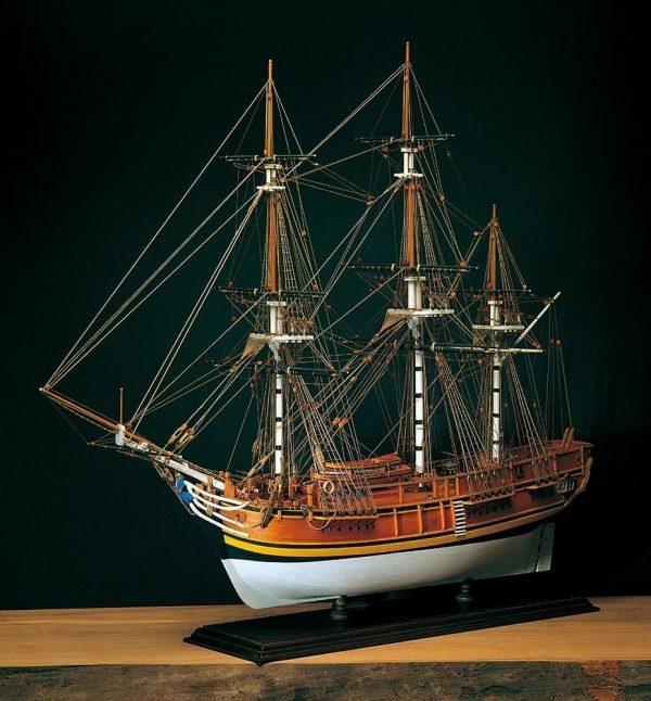 365-14098-HMS-Bounty-1-Model-Ship-Kit-Amati-1432