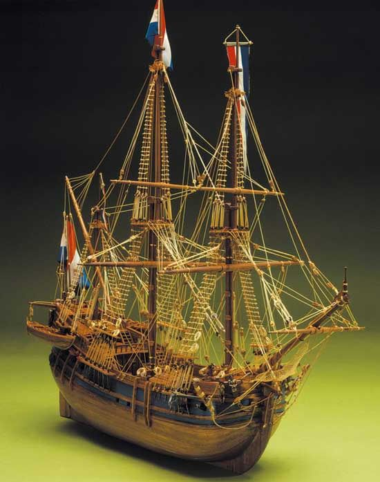 434-8034-Dutch-Whaler-Ship-Model-Kit