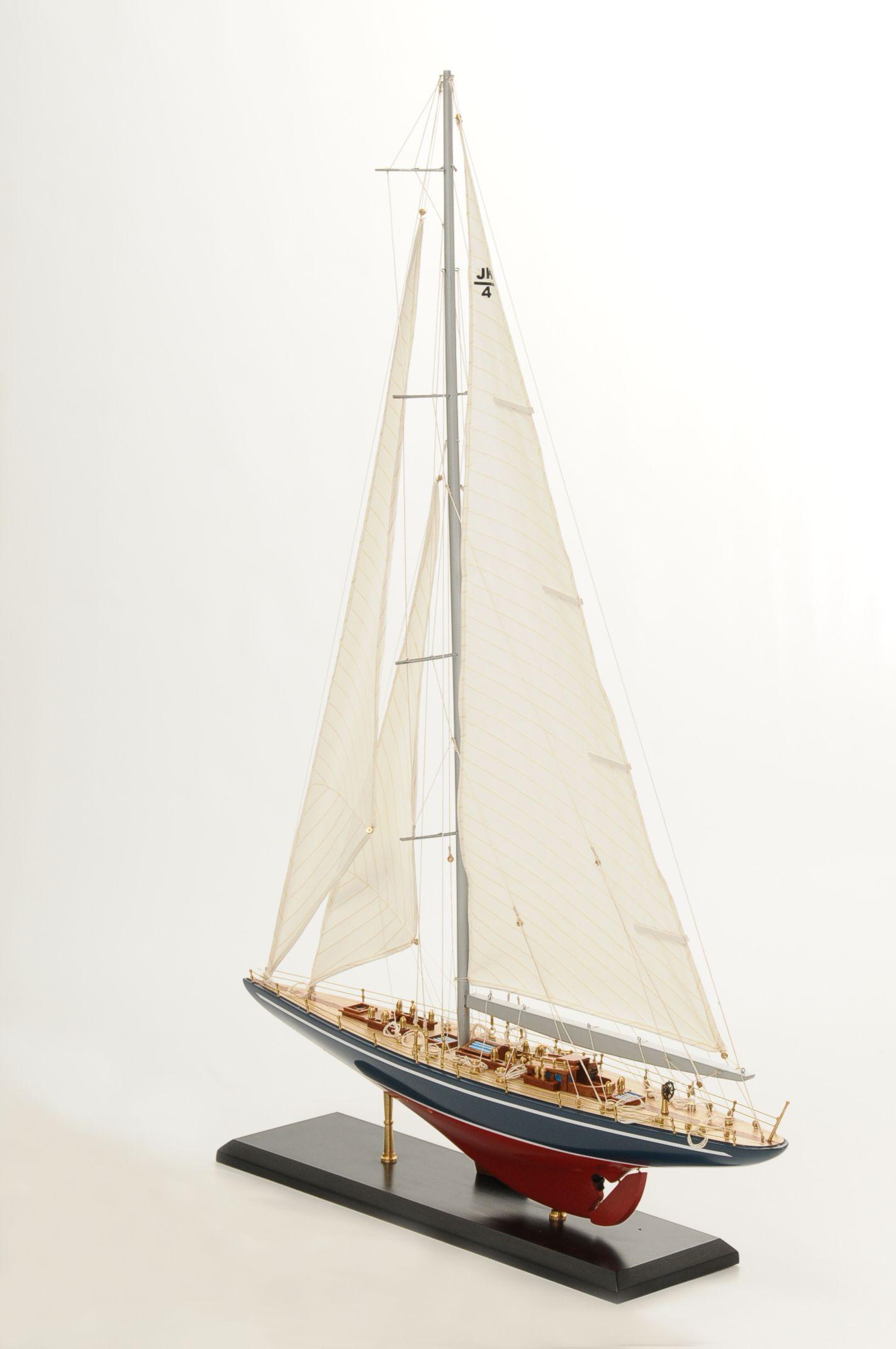 maquette bateau - endeavour yacht  gamme sup u00e9rieure