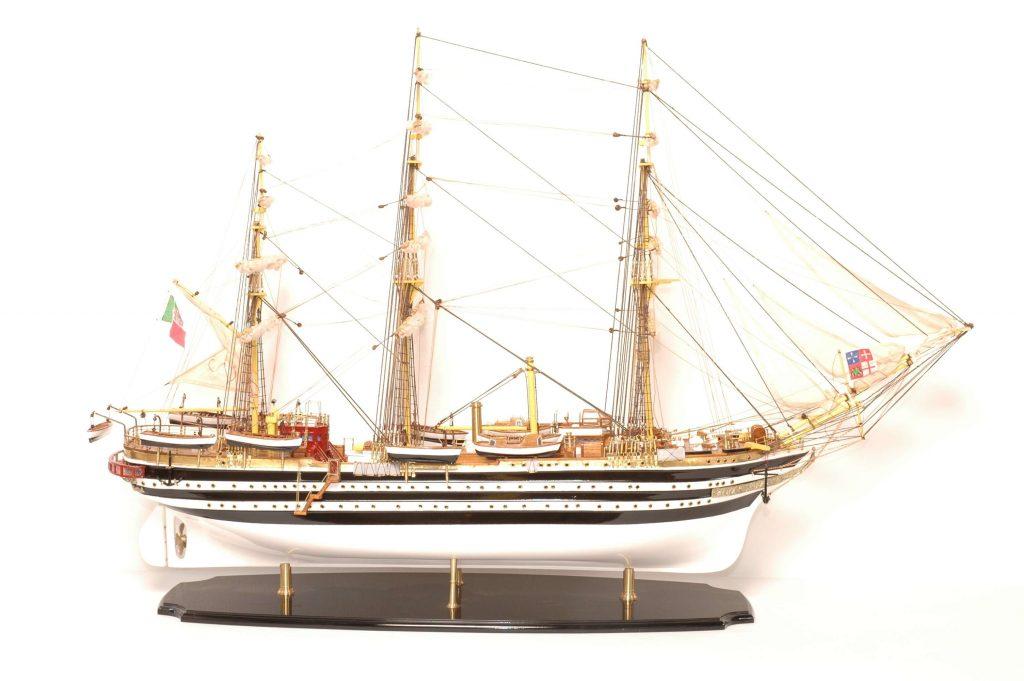 maquette bateau - amerigo vespucci  gamme sup u00e9rieure