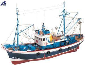 616-7956-Marina-II-Model-Boat-Kit