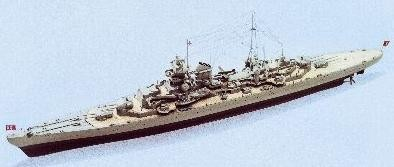826-Prinz-Eugene-Model-Boat-Kit-Complete-Set