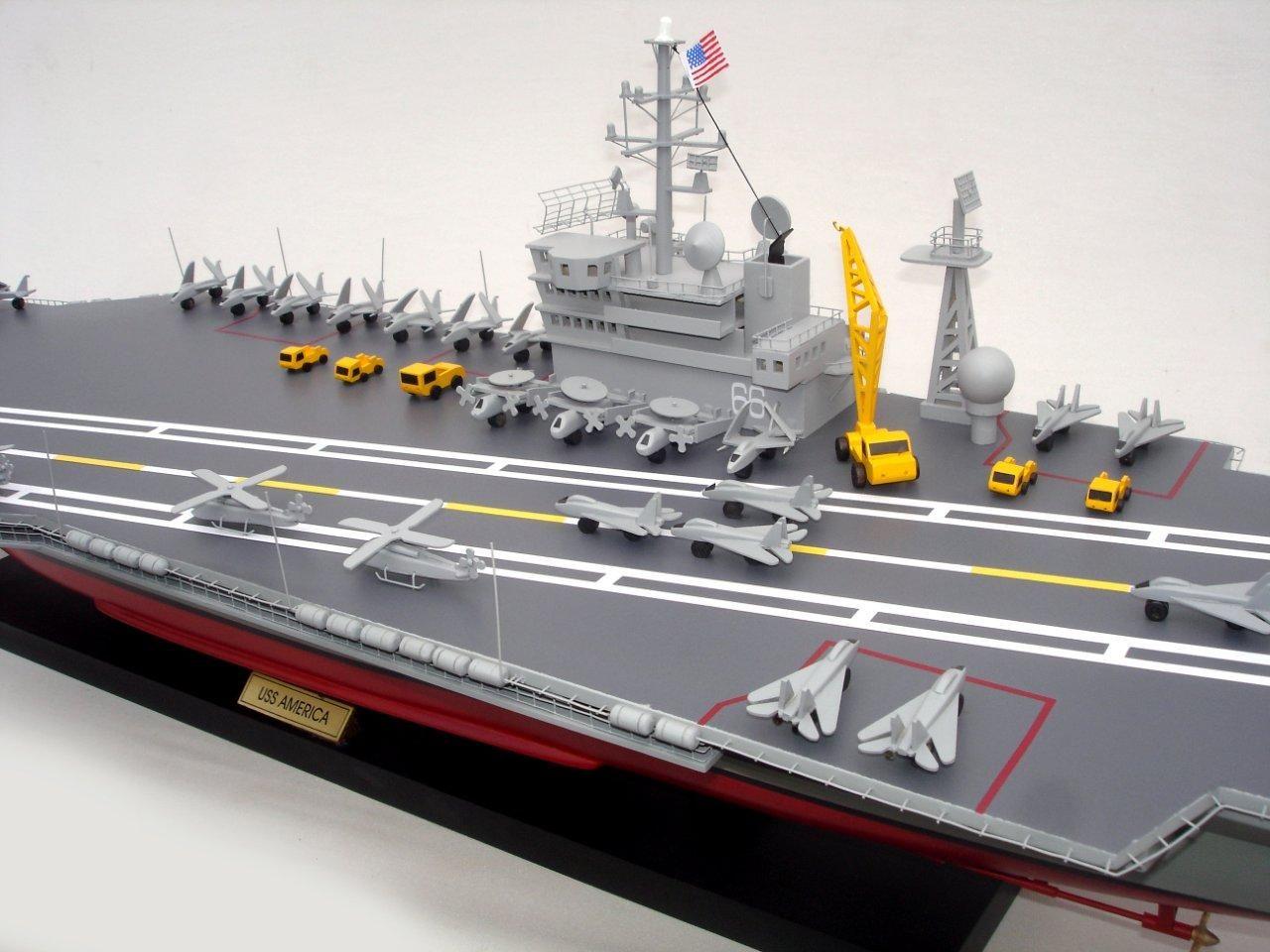 1944-12494-Aircraft-Carrier-Uss-America-CV-66-ship-model