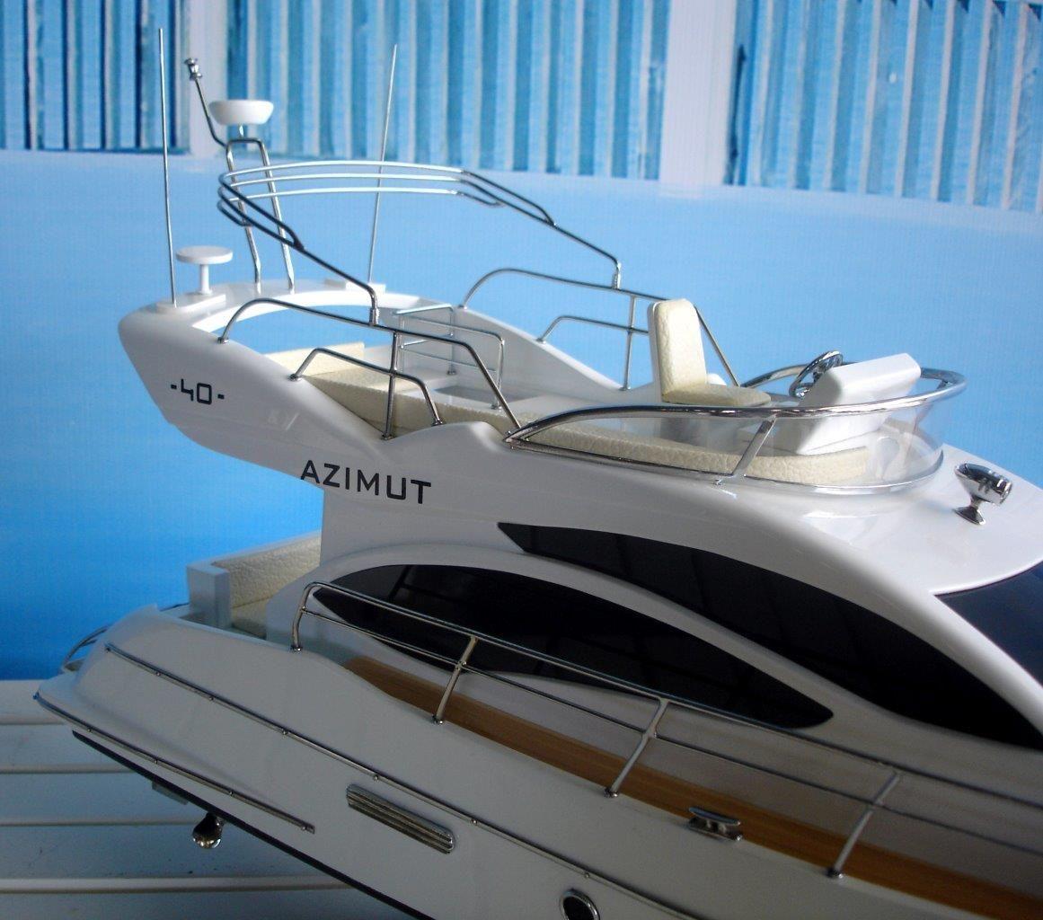 Maquette en bois Azimut 40 - GN (SB0079P-60)