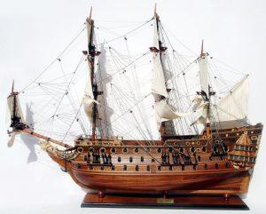 2025-11909-HMS-Prince-Model-Boat