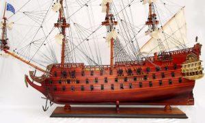 Maquette de bateau Le Furieux - GN (TS0019W)
