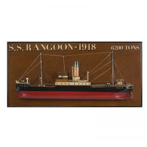 2041-12047-Rangoon-Steamer-Half-Model-Ship-Authentic-Models-AS300