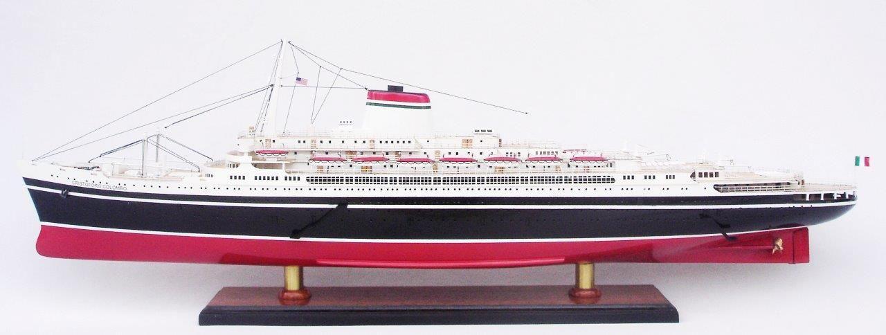 Maquette de navire SS Cristoforo Colombo - GN (CS0086P)