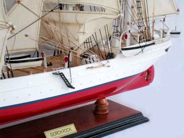 Maquette en Bois Gorch Fock I - GN (TS0073P-80)