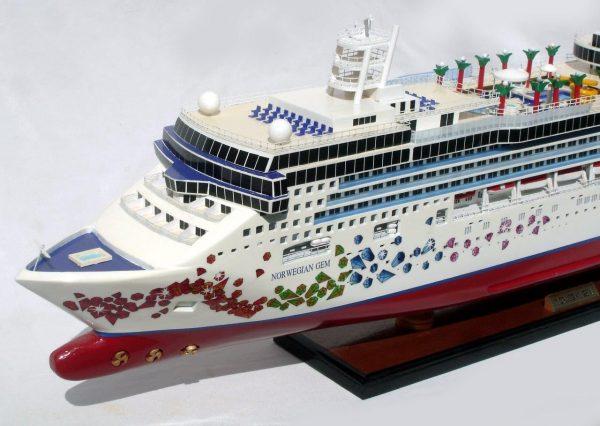 Modèle de Navire Norvégien Gem - GN (CS0074P)