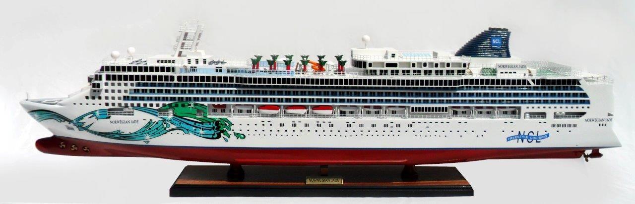 Maquette en bois de Jade Norvégien - GN (CS0080P)