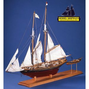 2138-12740-Benjamin.-W.-Latham-Boat-Kit-Model-Shipways-MS2109