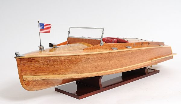 2291-13242-Runabout-Wooden-Model-Ship
