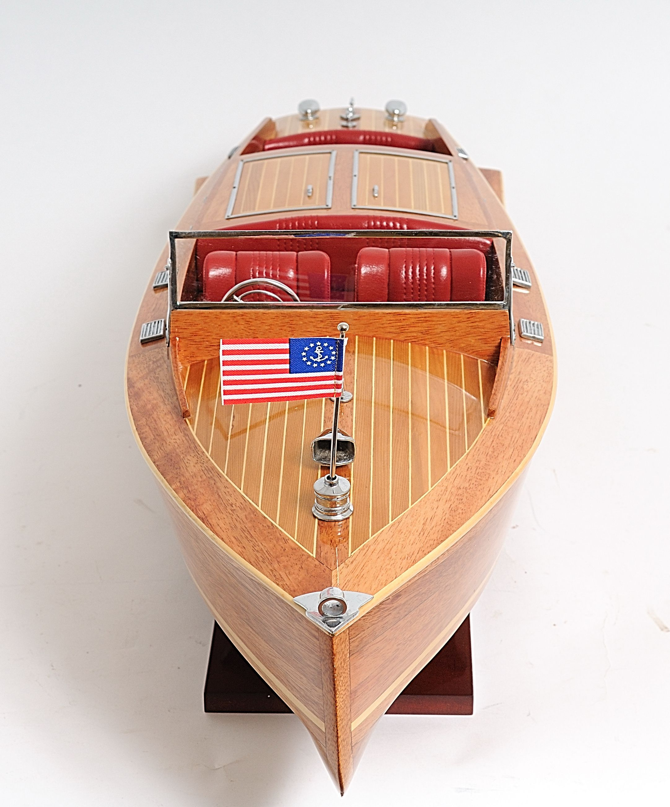 2291-13243-Runabout-Wooden-Model-Ship