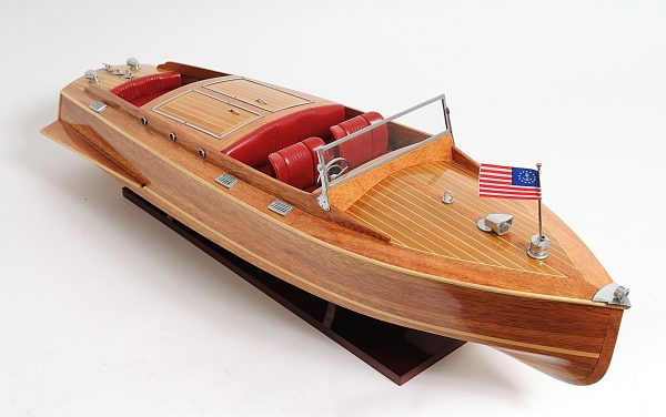 2291-13244-Runabout-Wooden-Model-Ship