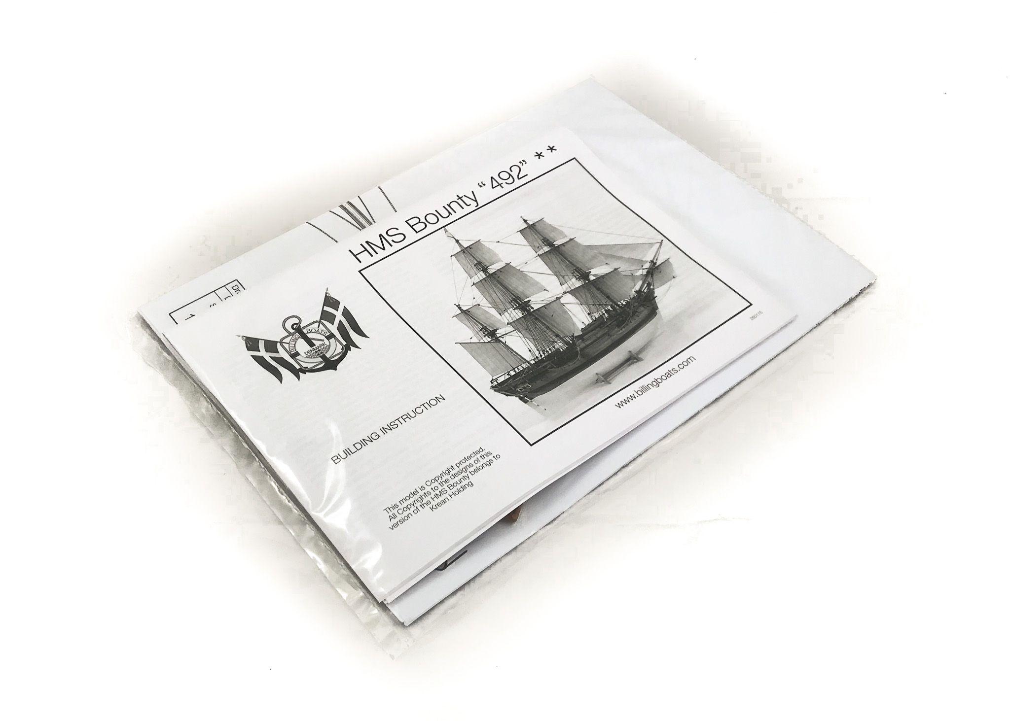 Maquette à Construire: HMS Bounty - - Billing Boats (B492C)
