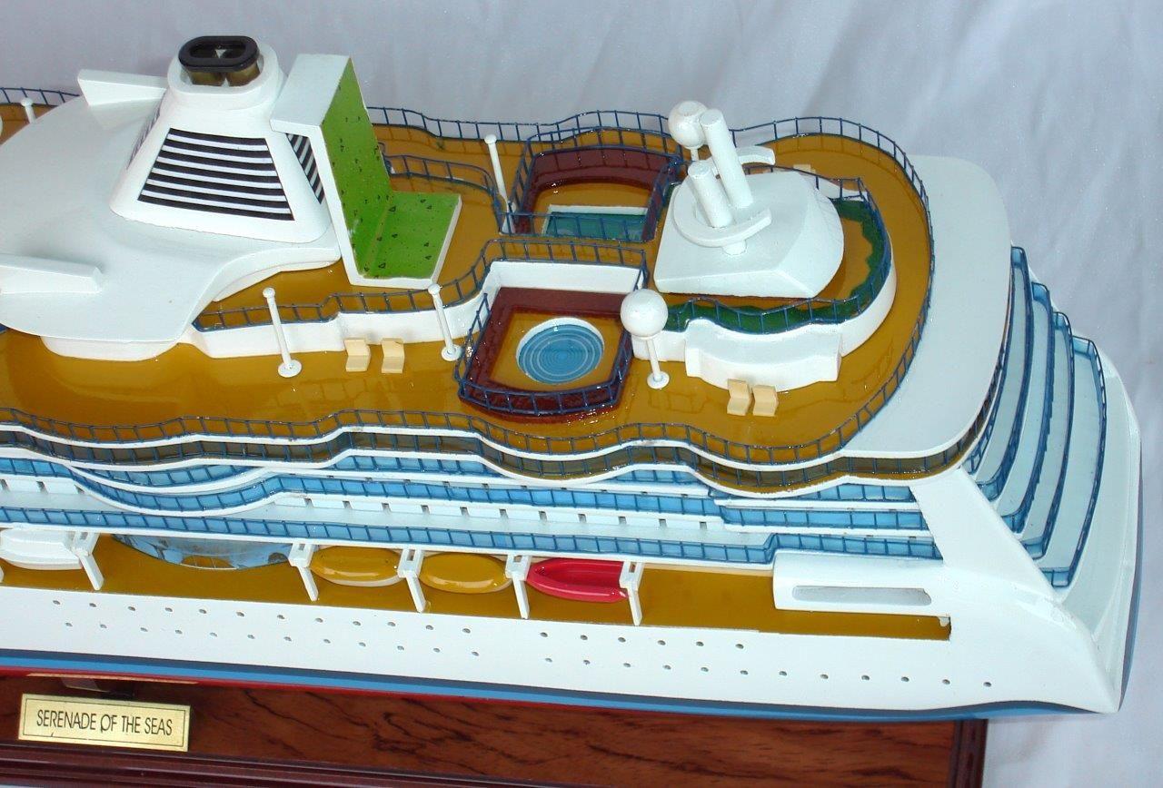 Maquette de bateau en bois Sérénade des mers - GN (CS0015P)